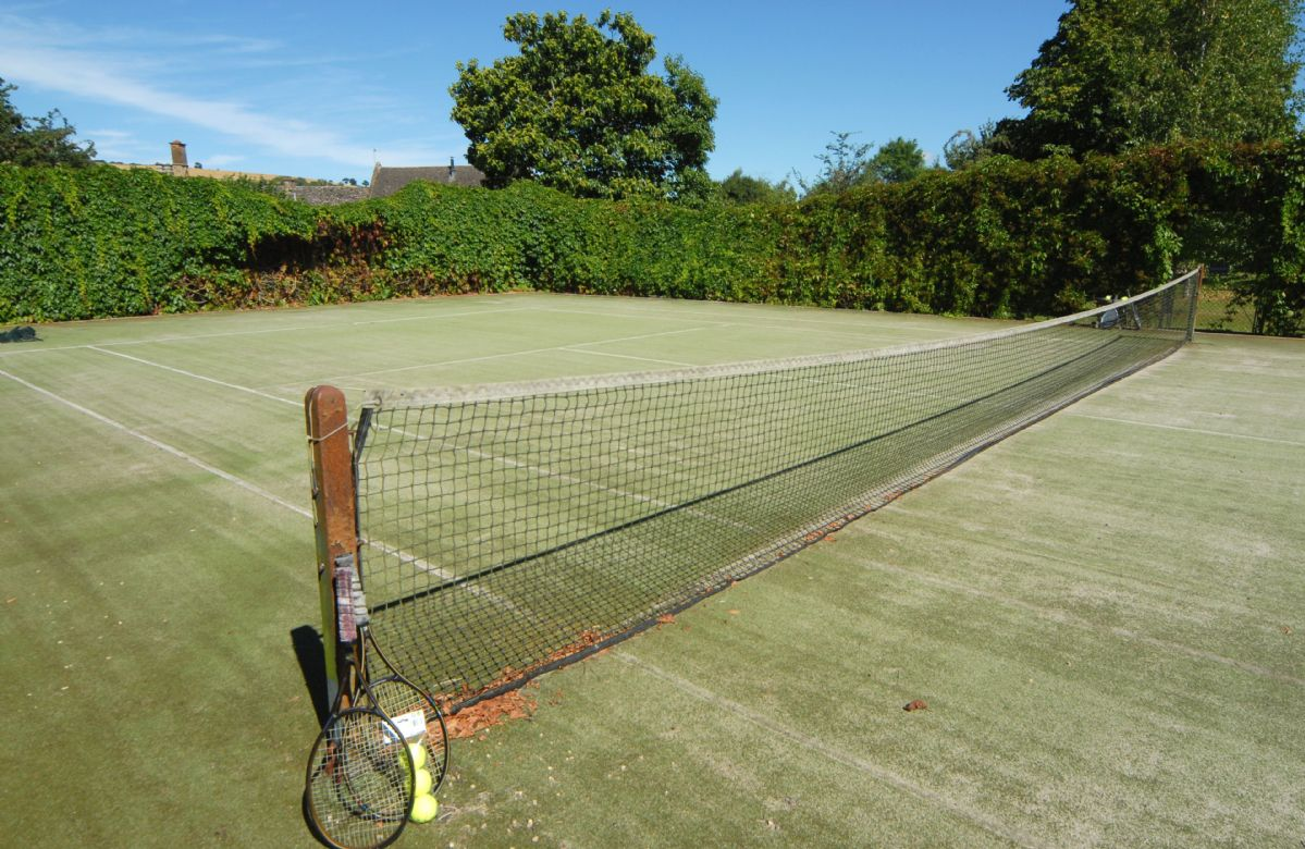 Stourton Manor boasts its own tennis court (please bring your own racquets and tennis balls)