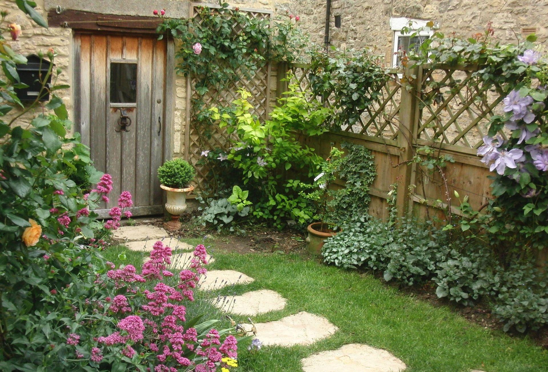 Delightful small garden