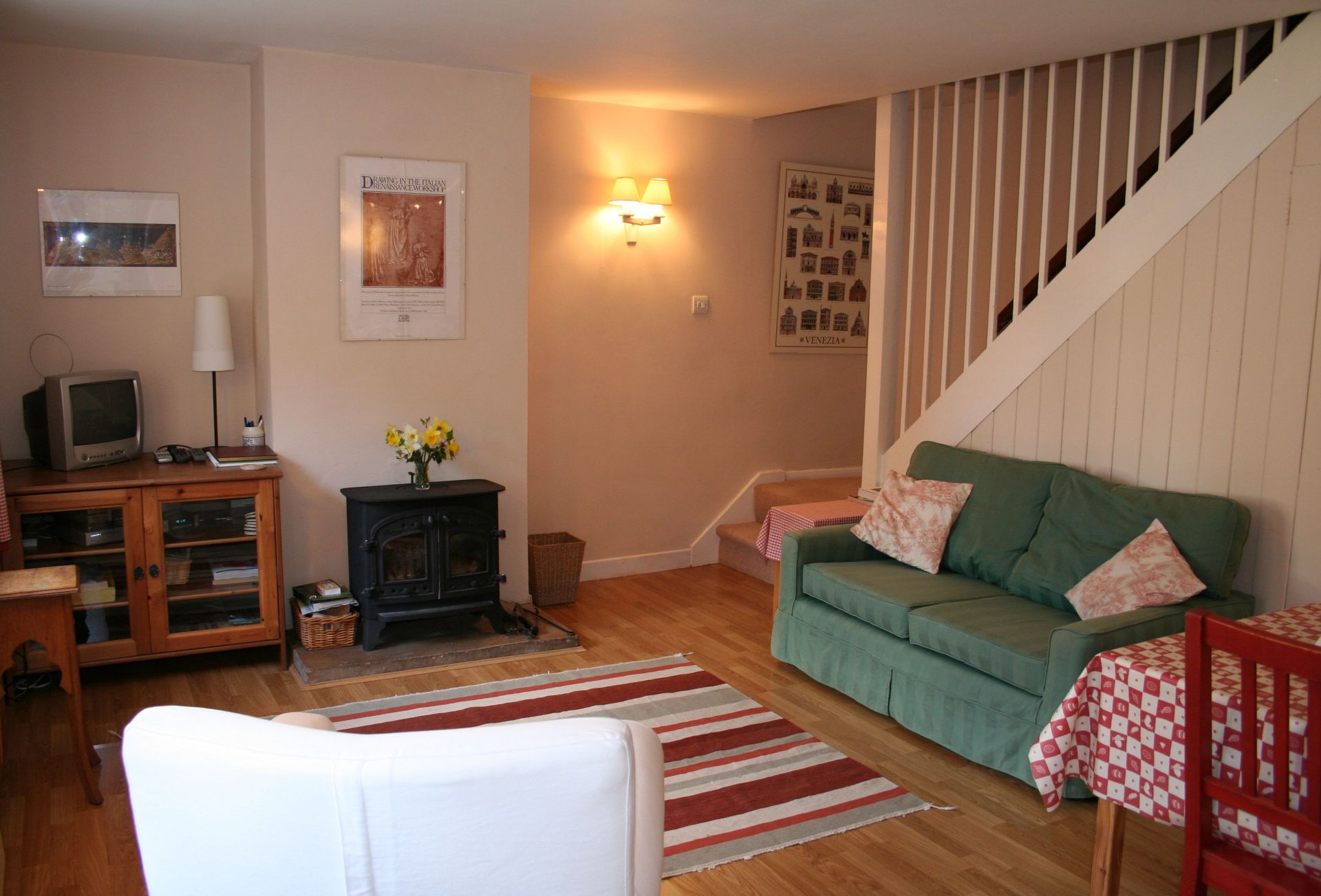 Another aspect of the open-plan Living area