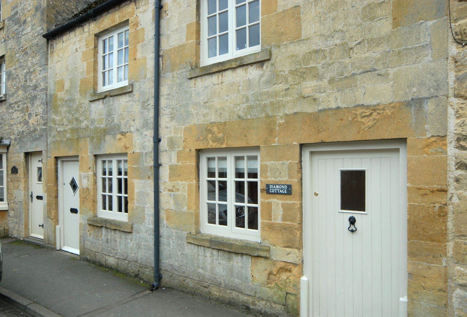 Diamond Cottage entrance