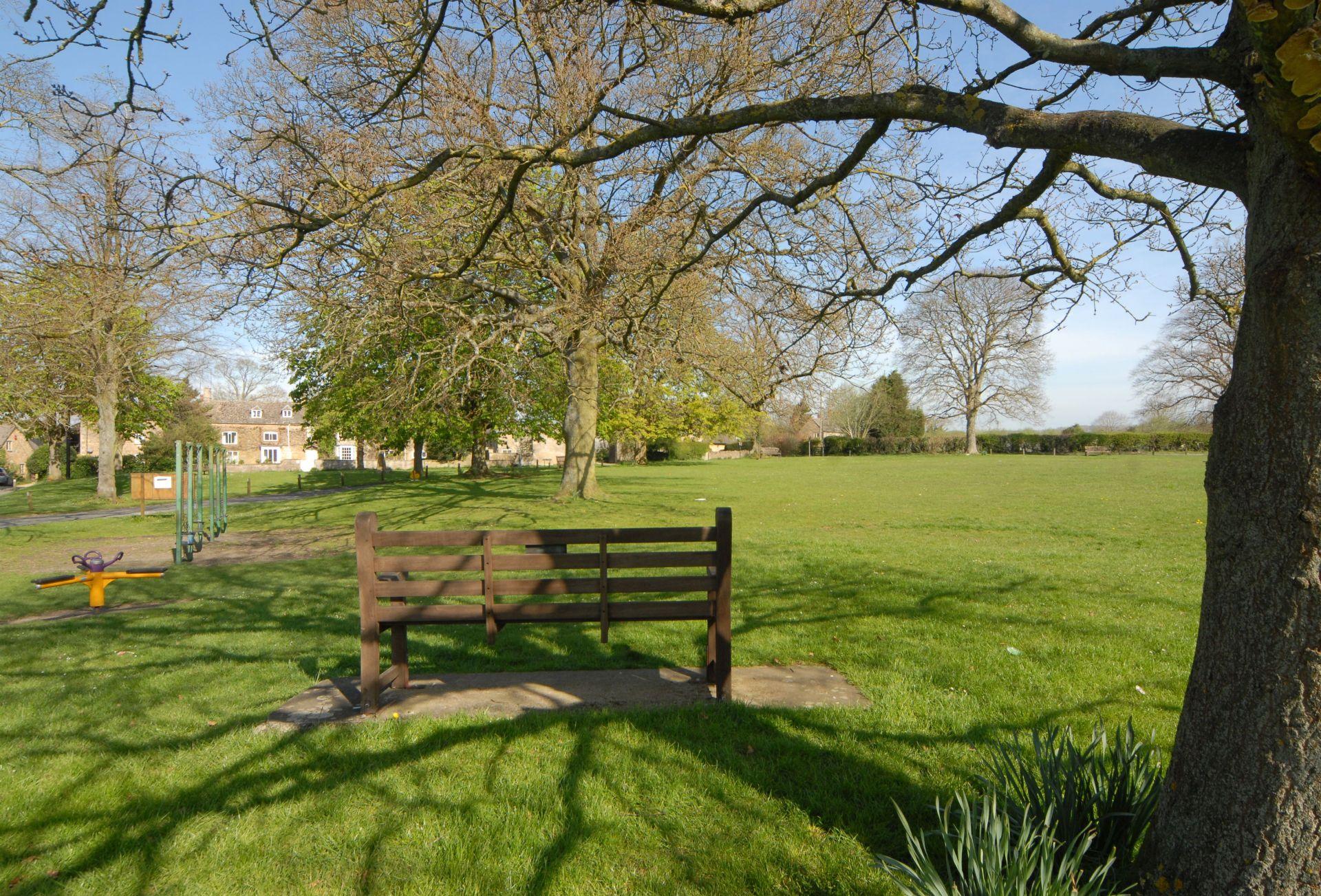 Children's play area in Kingham