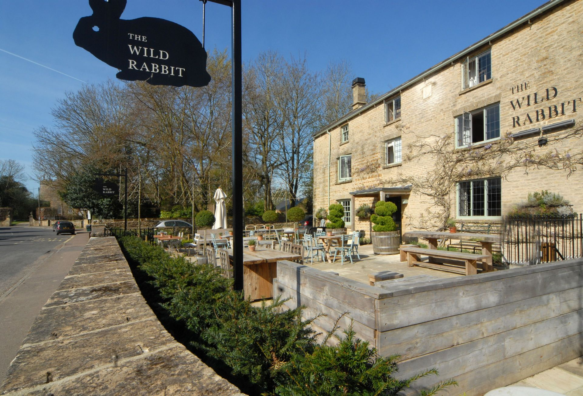 The Wild Rabbit in Kingham for fine dining