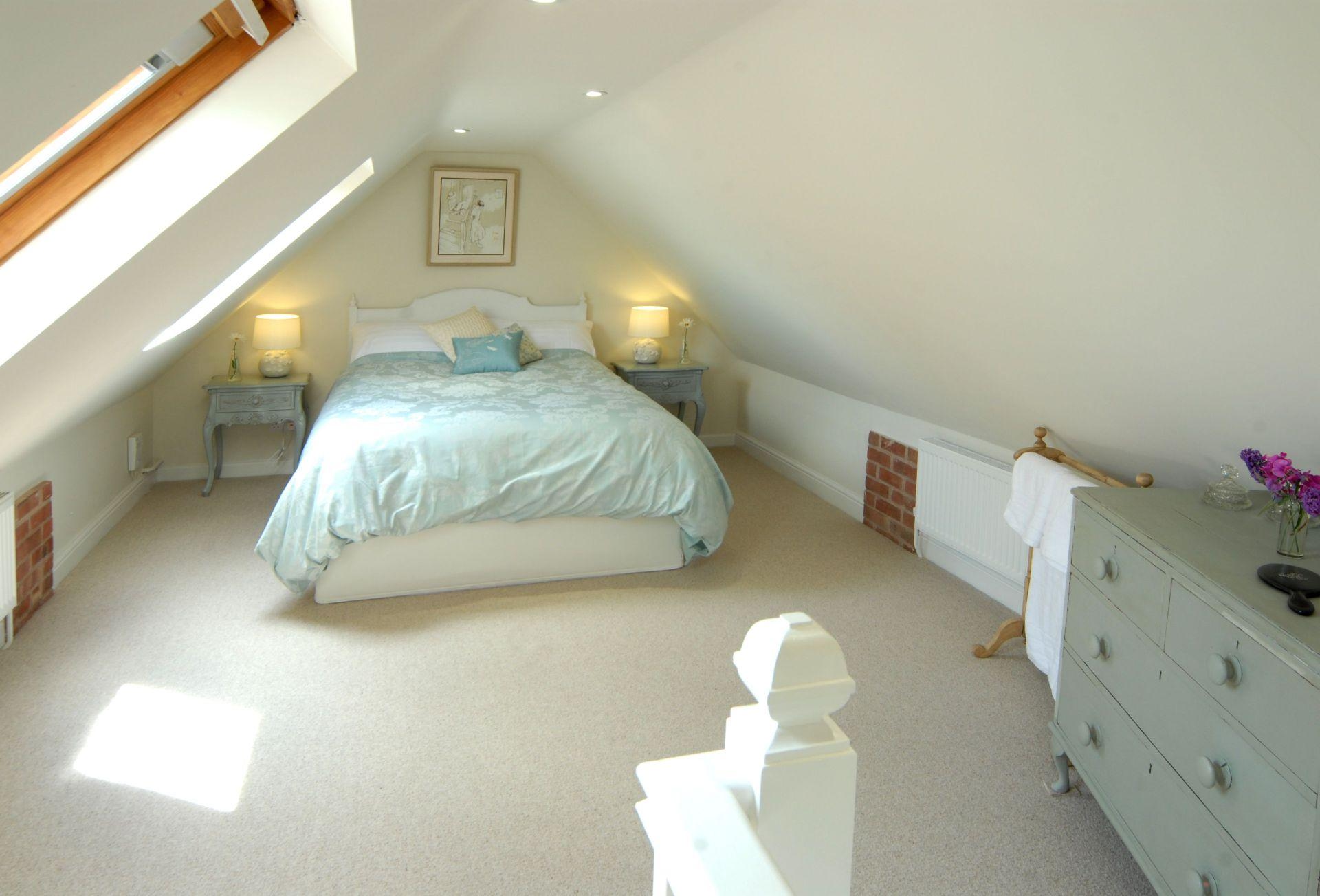 First floor: Bedroom