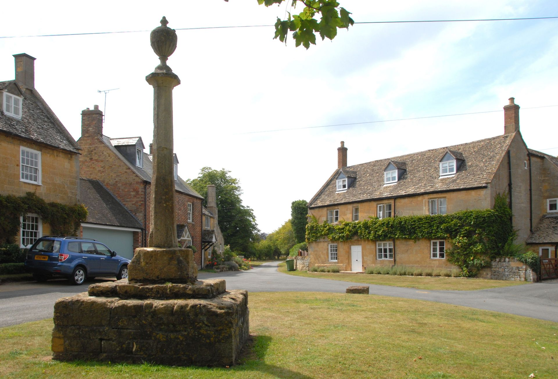 Another view of the village green