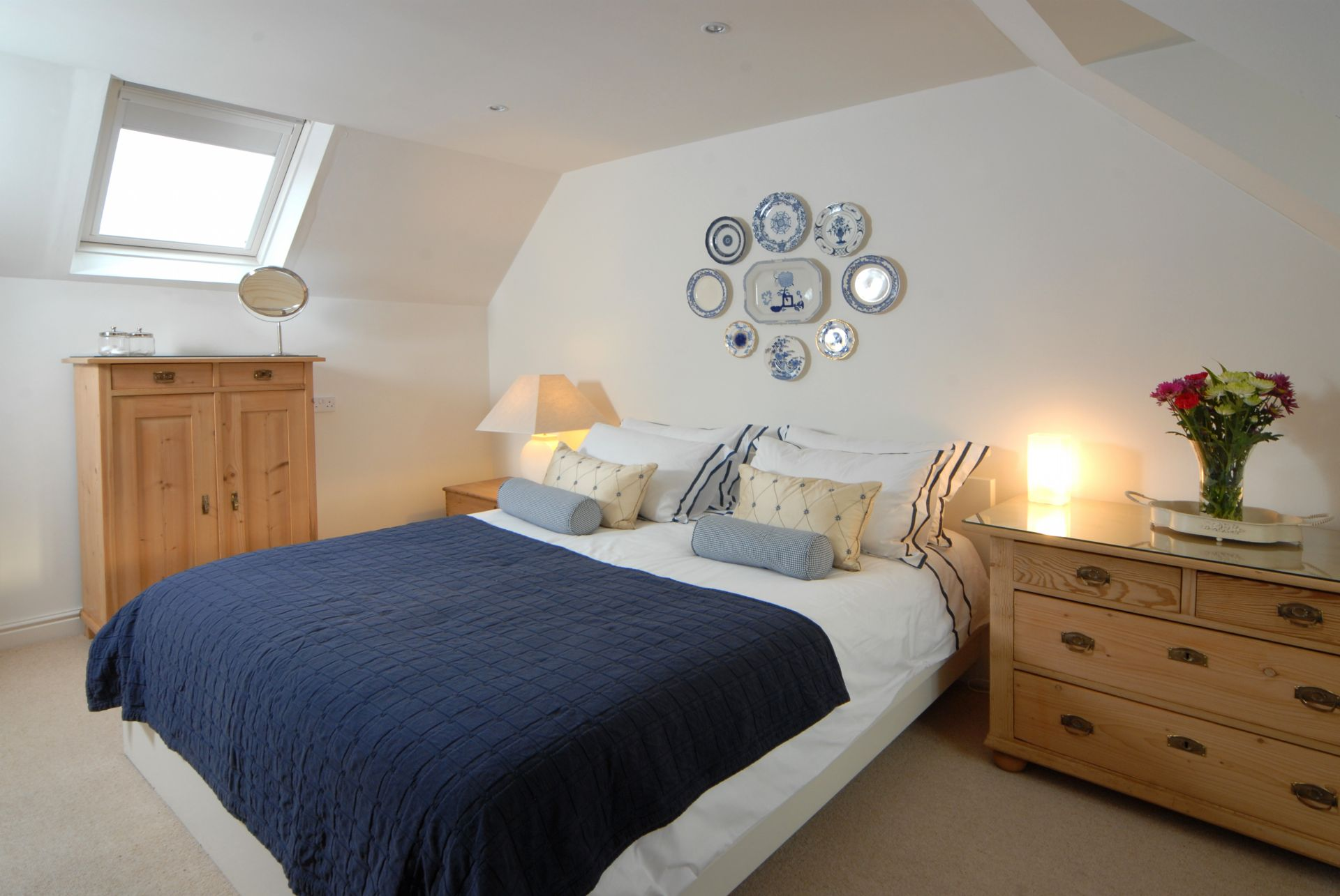 A view of the double Bedroom