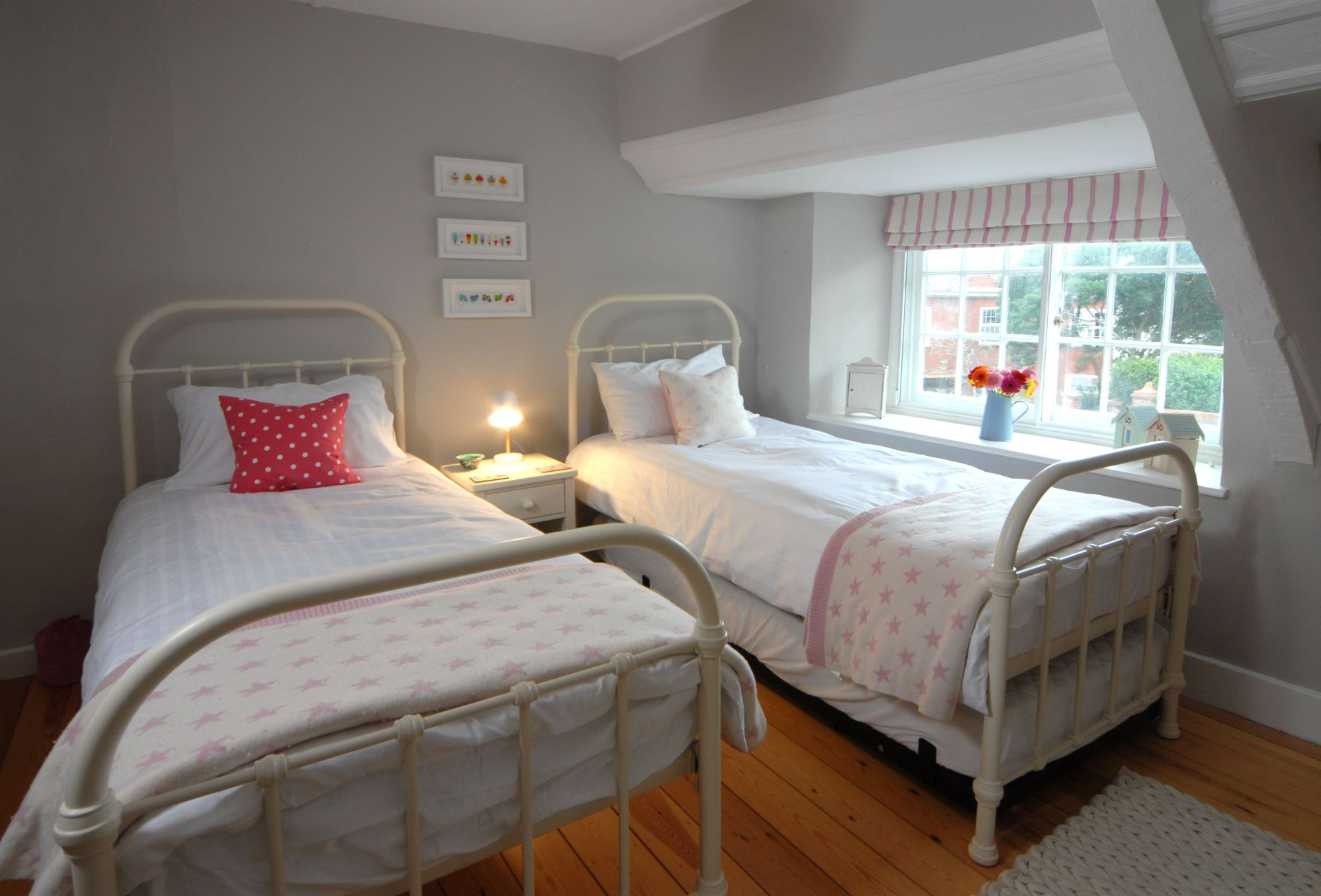 First floor:  Twin room