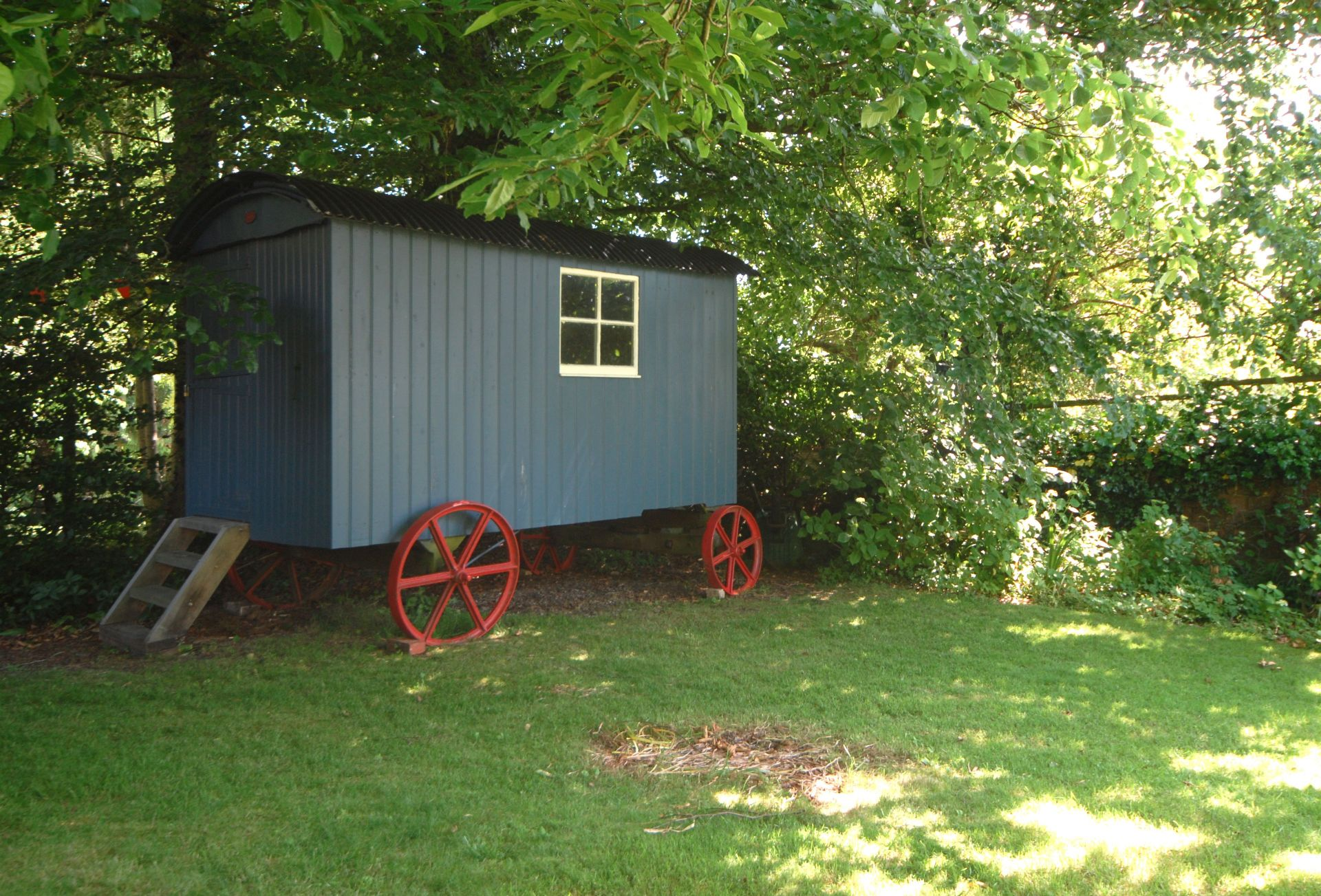 A view of the traditional shepherd's hut
