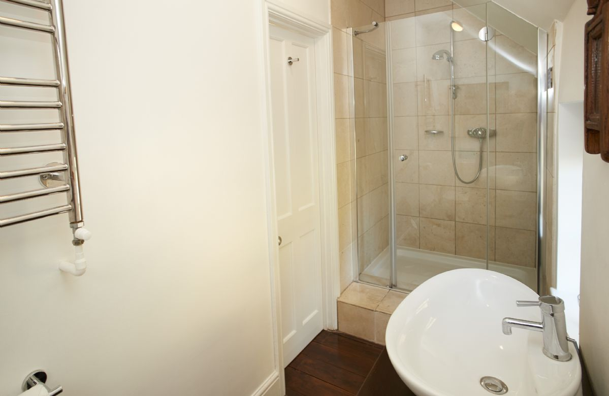 First floor: En-suite shower room accessed via the Chestnut bedroom