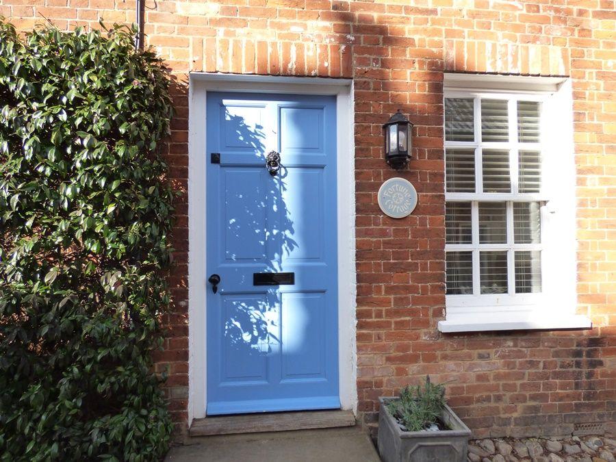 Fortune Cottage   Front door