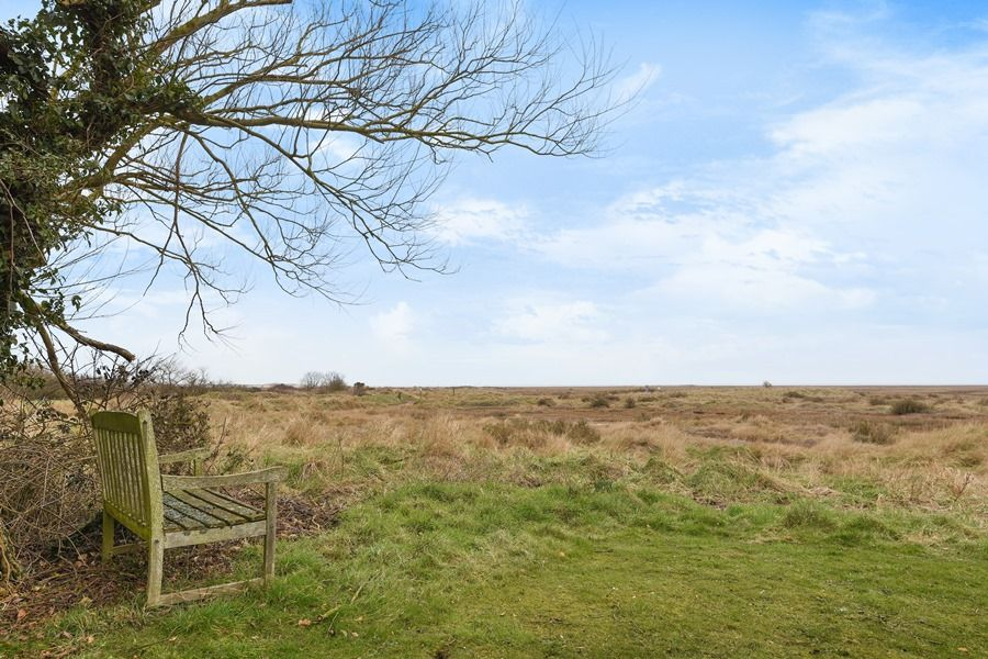 Coastguard's Cottage | View out across marshes