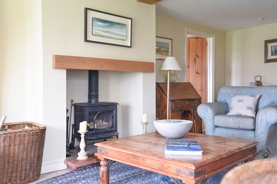 Coastguard's Cottage | Wood burner
