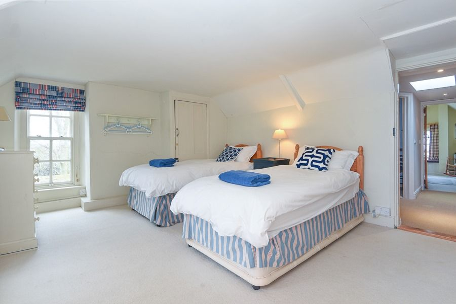 Coastguard's Cottage 3 bedrooms | Twin room