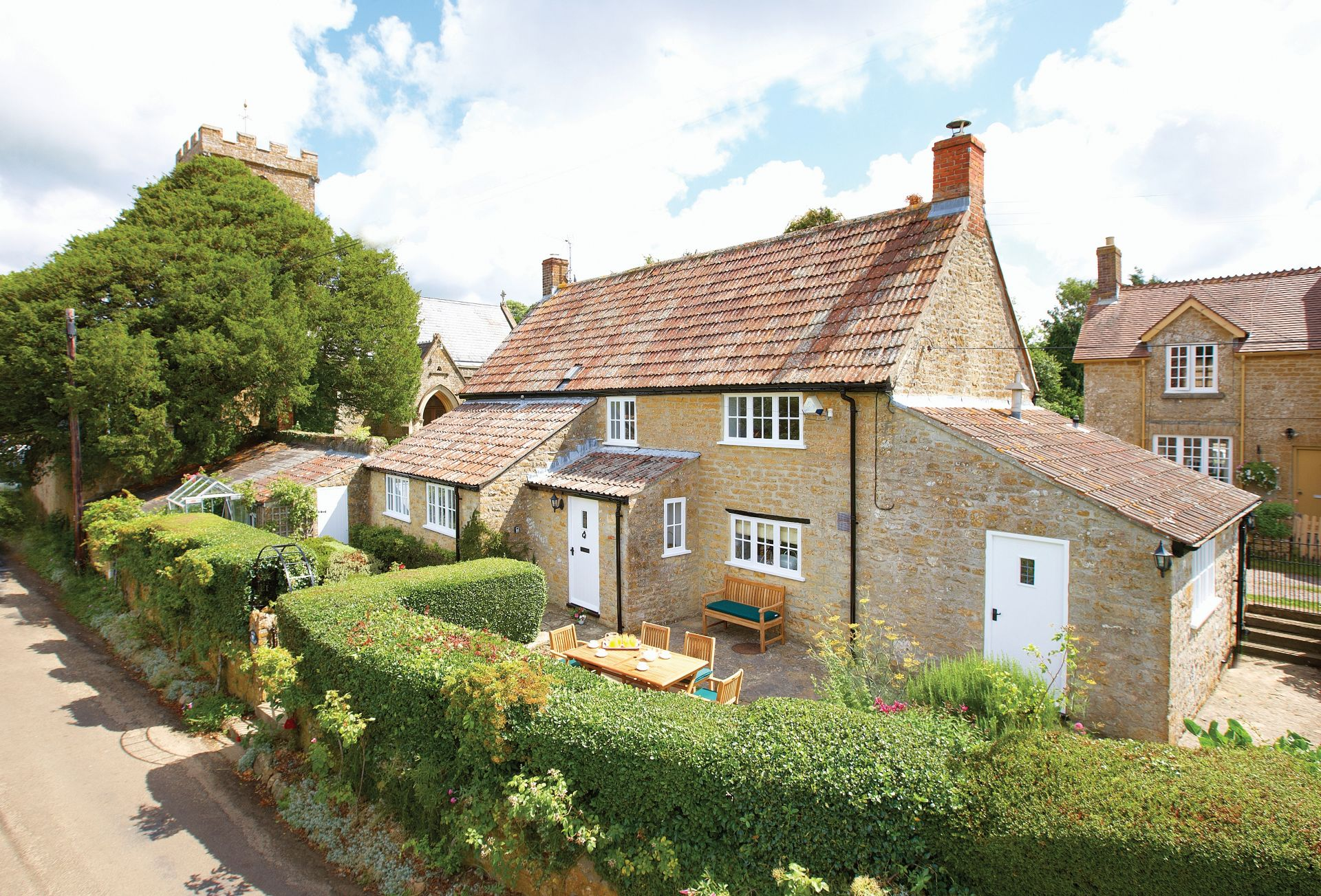 Rose Cottage, a beautiful, detached Grade II listed cottage in the charming village of Powerstock