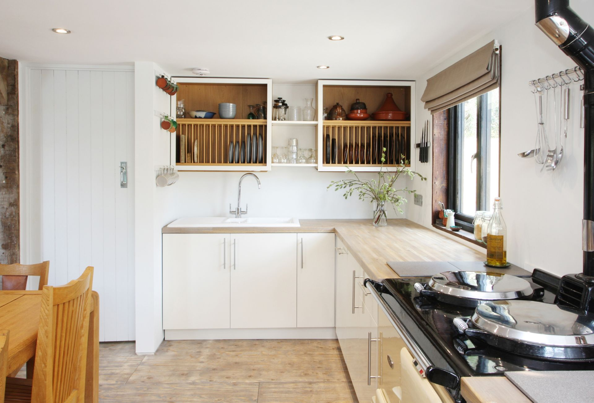 Ground floor: Open plan Kitchen with Aga