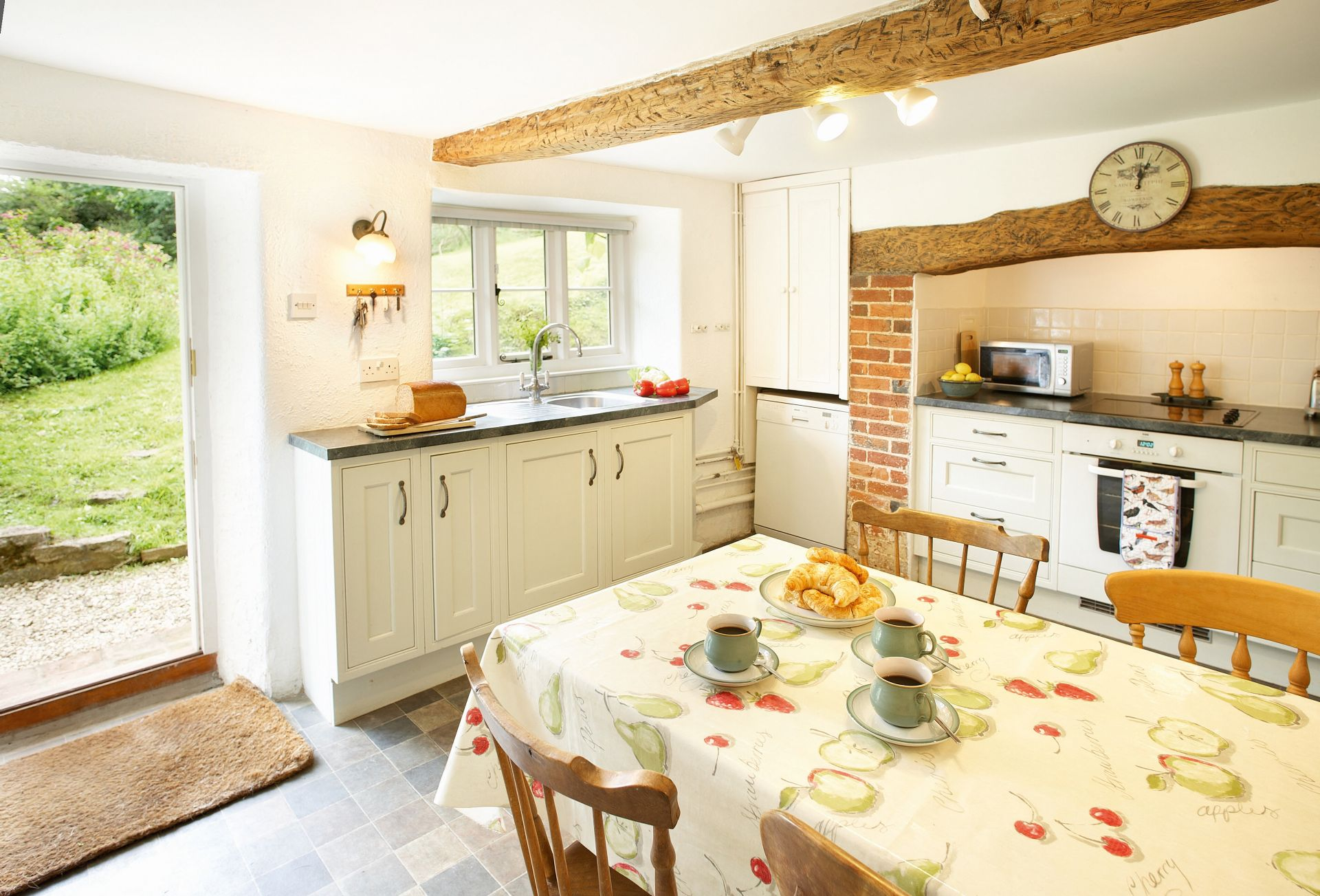 Ground floor:  Fully fitted kitchen with table