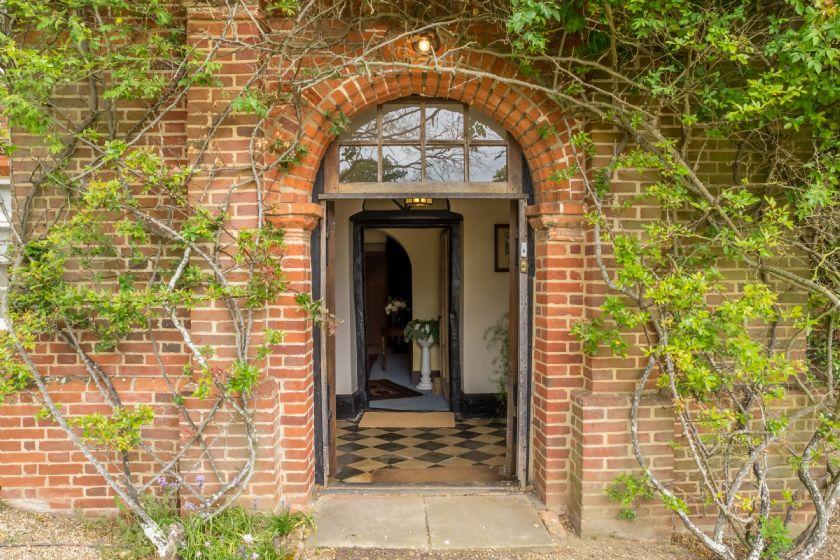 Front door to Witnesham hall