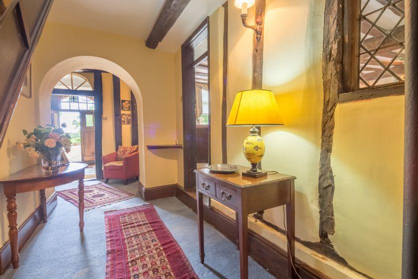 Ground floor: Hallway from the front door