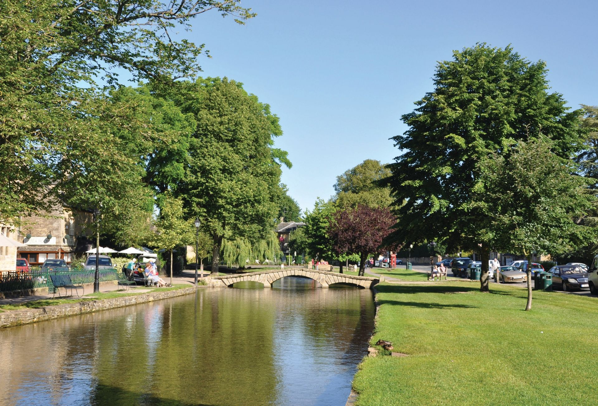 Bourton-on-the-Water, a popular tourist destination and the home of 'Brum' can be reached within 20 minutes from the property.