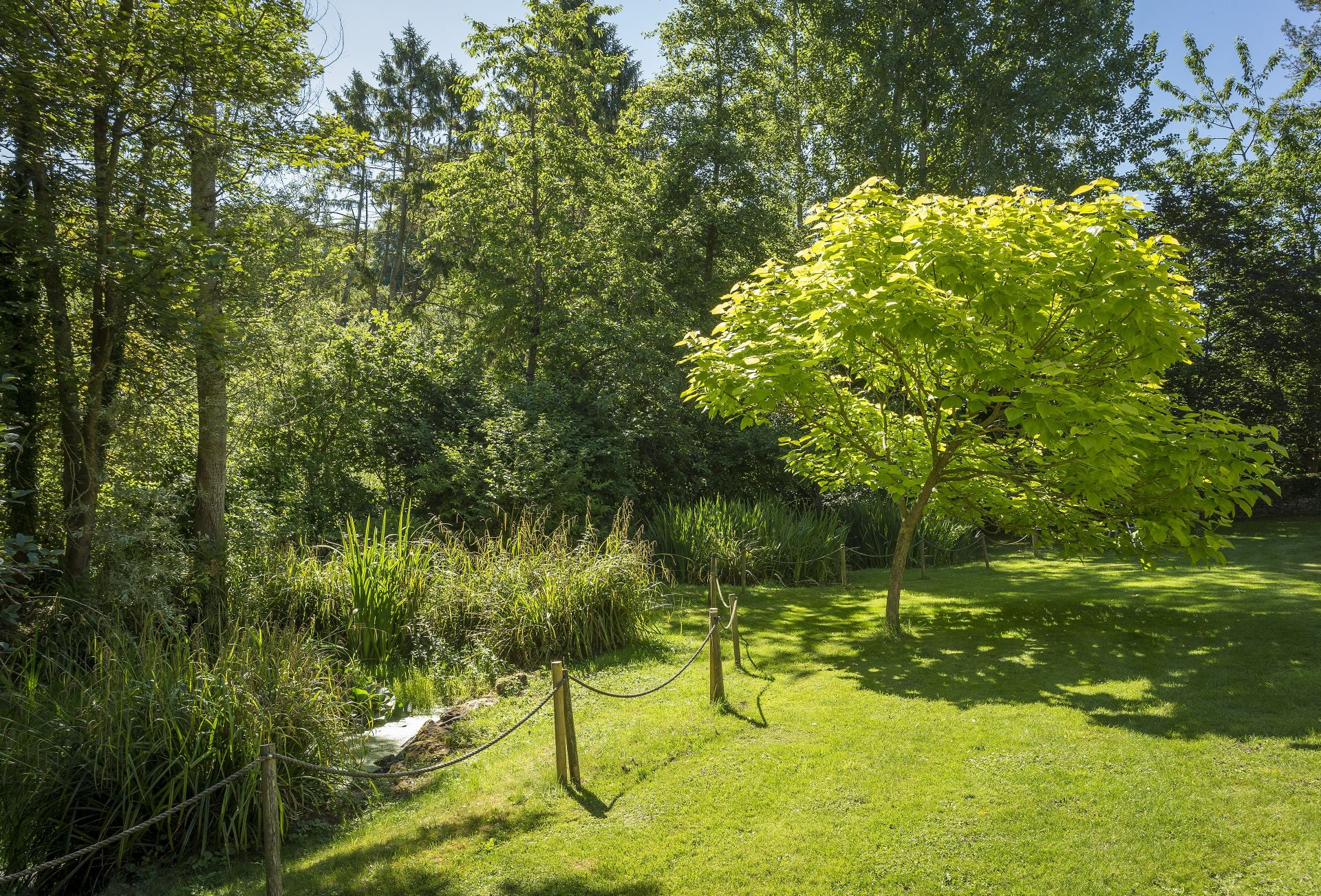 At the end of the garden there are two beautiful ponds (unfenced, please ensure children are supervised)
