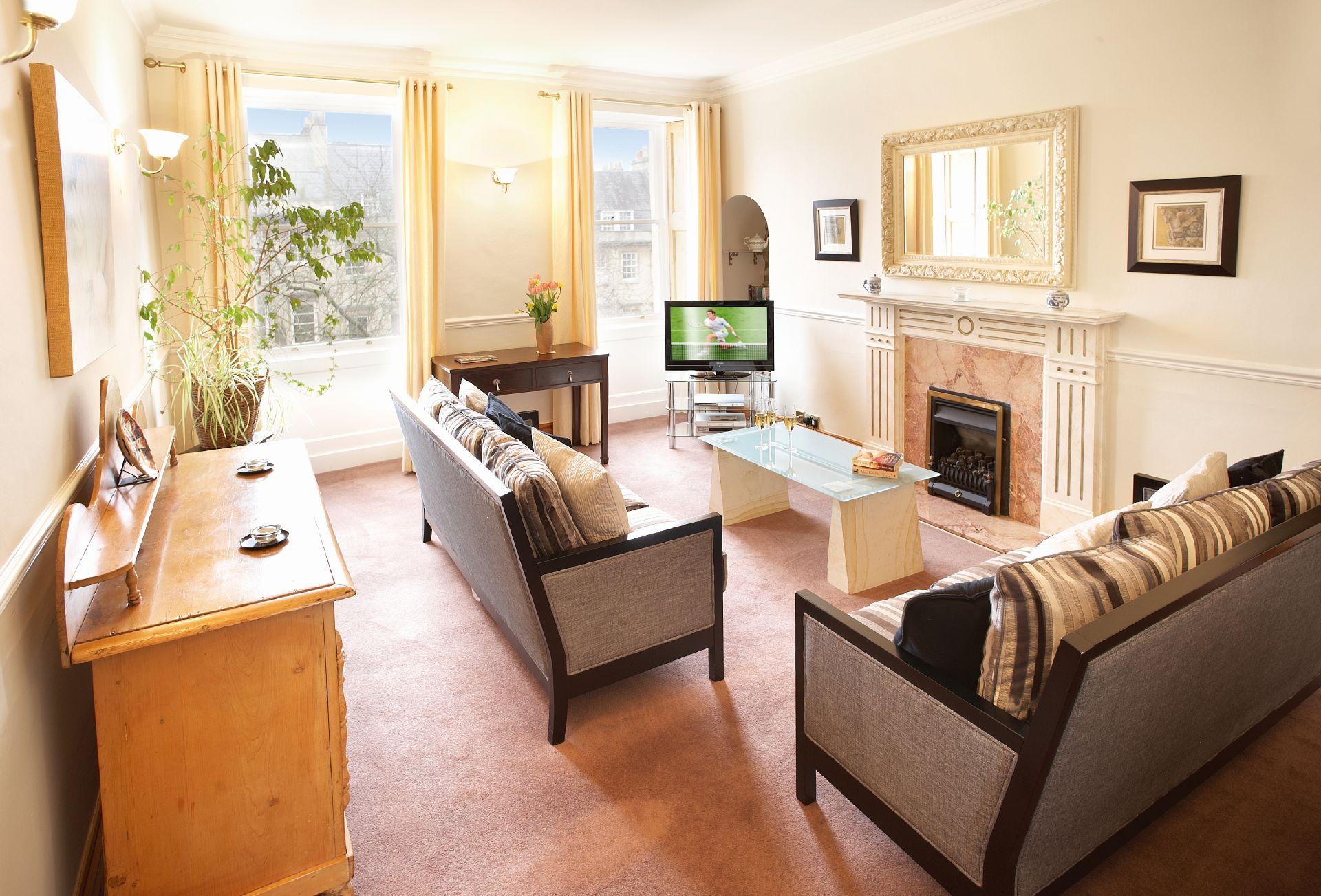 Second floor: Sitting room