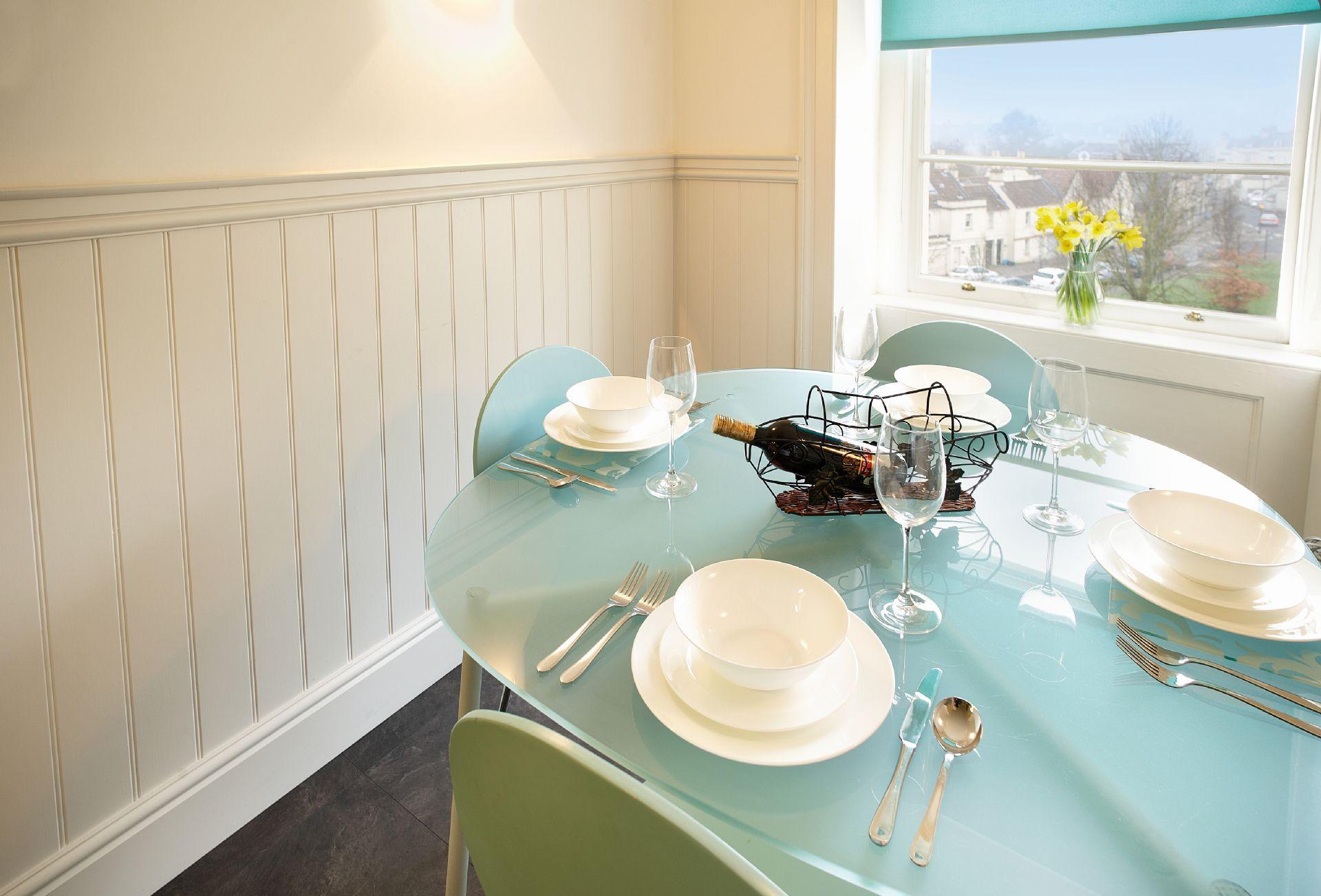 Second floor: Kitchen dining area