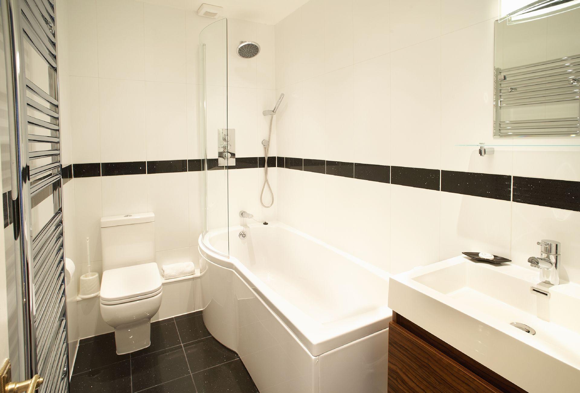 Second floor: The bathroom