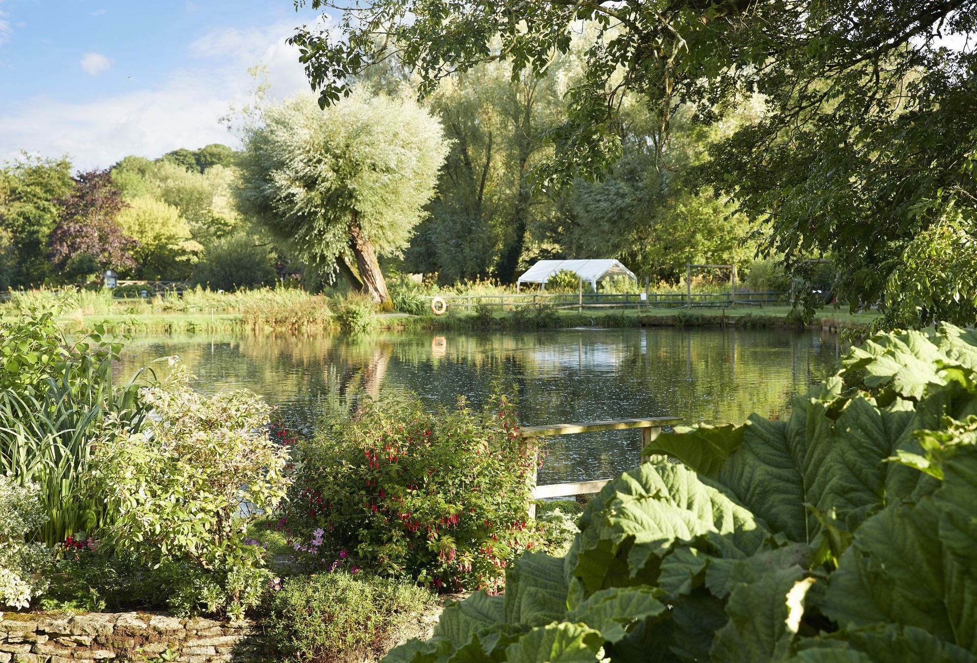 The area surrounding Rosebank Barn has wonderful river walks and country footpaths to discover