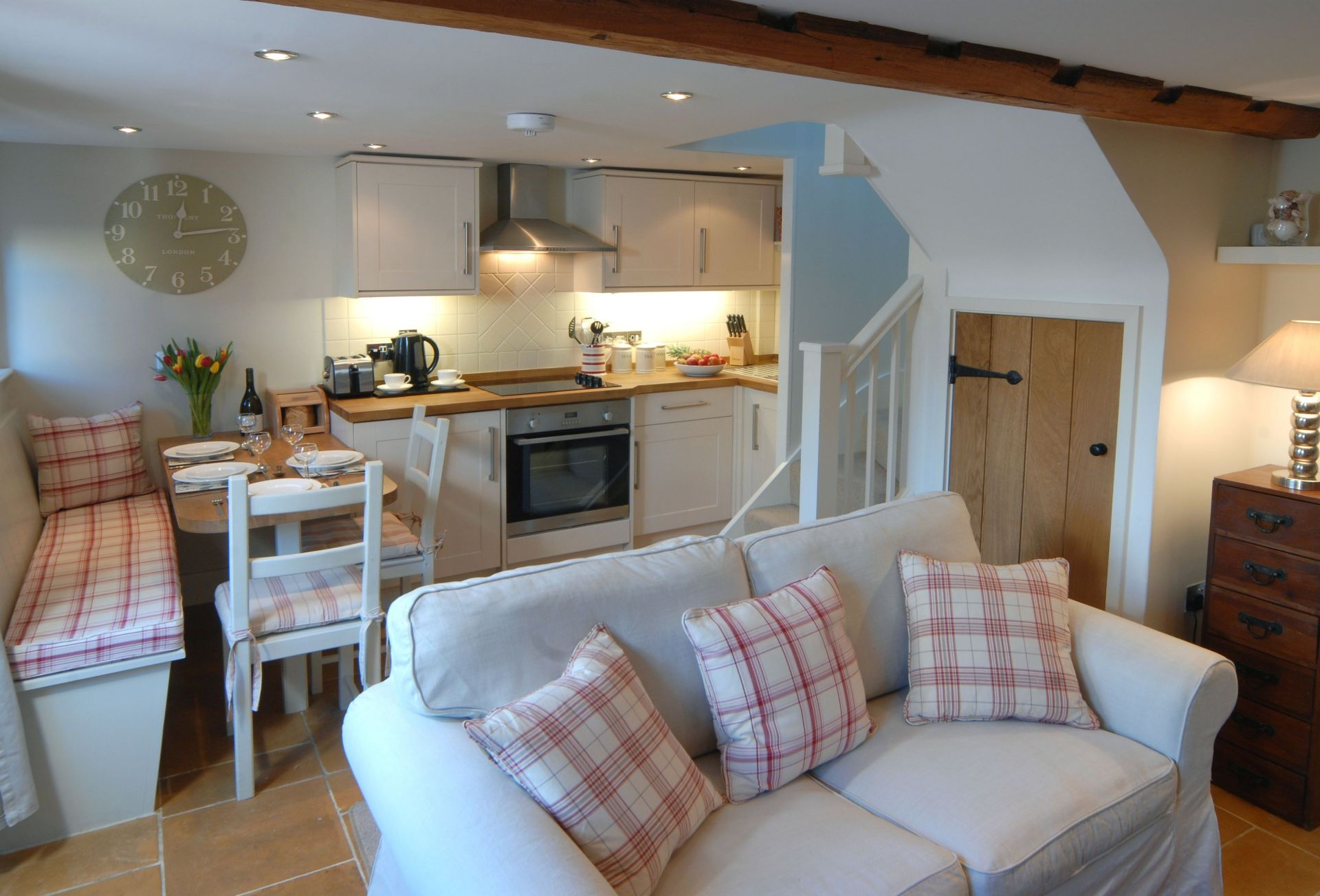 Ground floor: Open-plan living area
