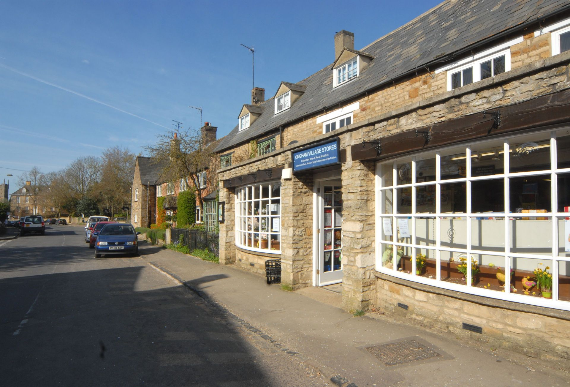 A view of the village shop