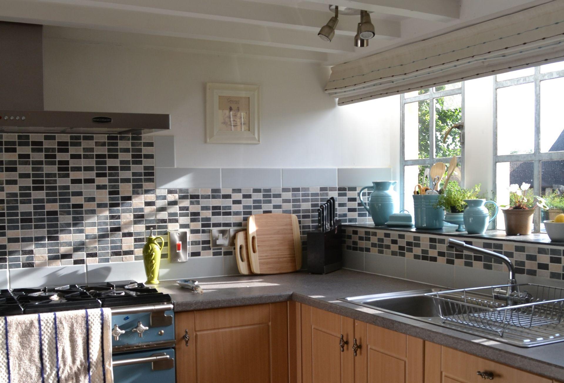 Ground floor:  Kitchen with range cooker