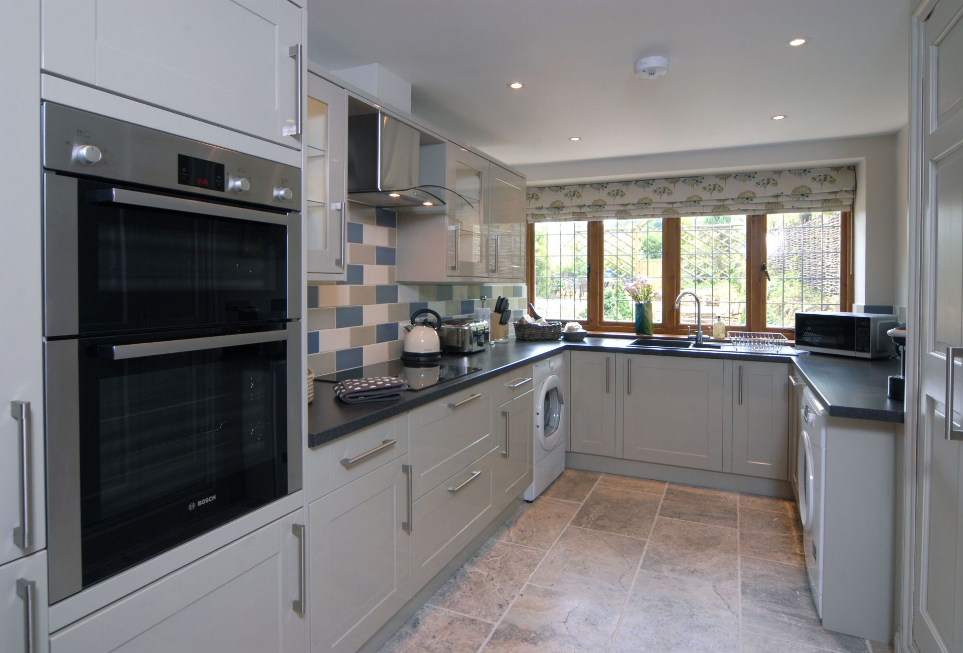Ground floor: The fully fitted kitchen