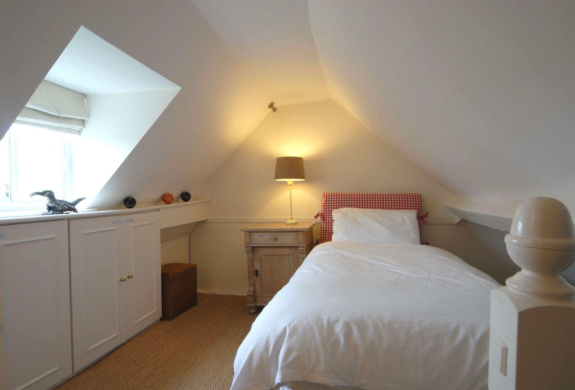 Second floor:  Bedroom three with single bed (accessed via master bedroom)