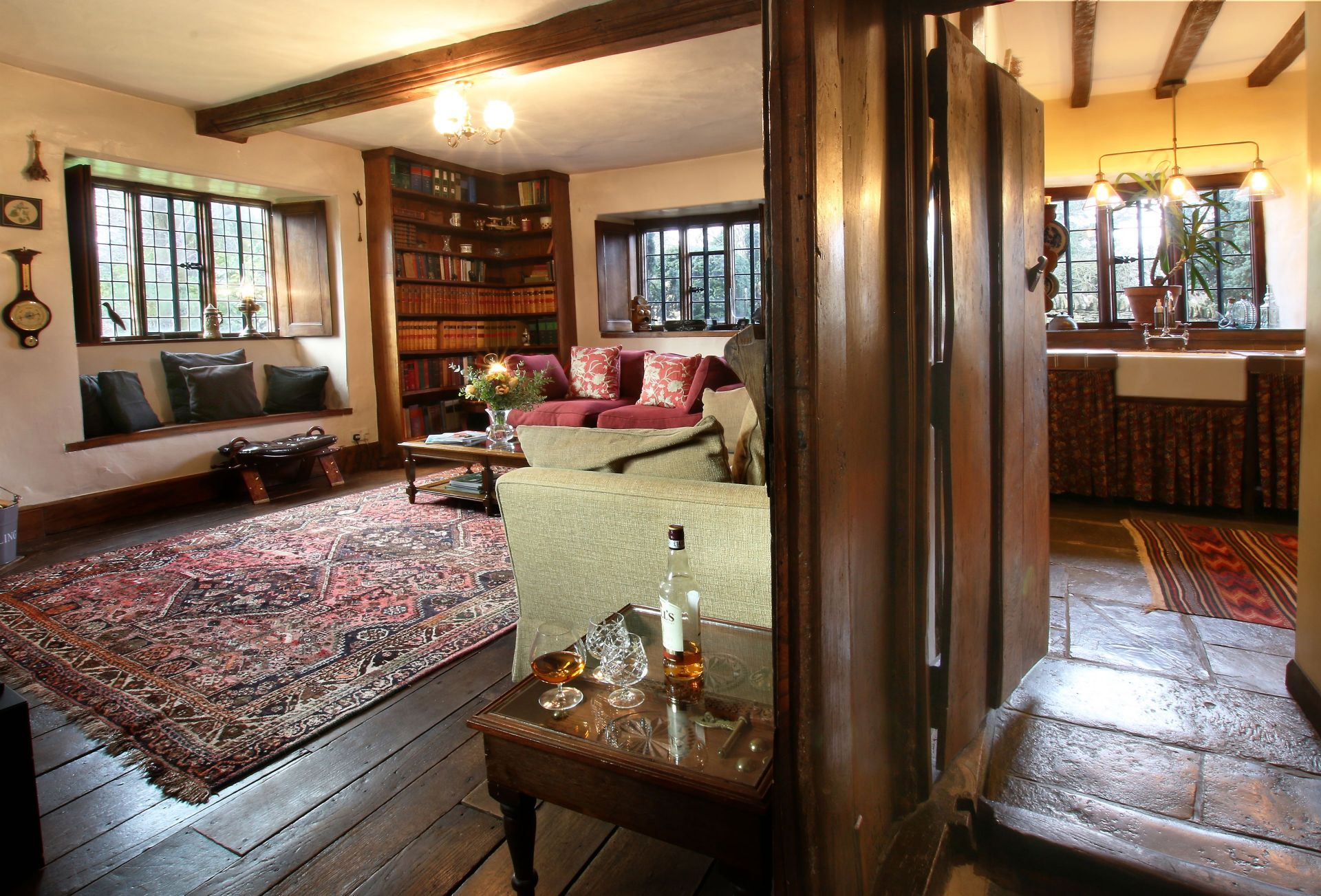 Another aspect of the Sitting Room and the Library
