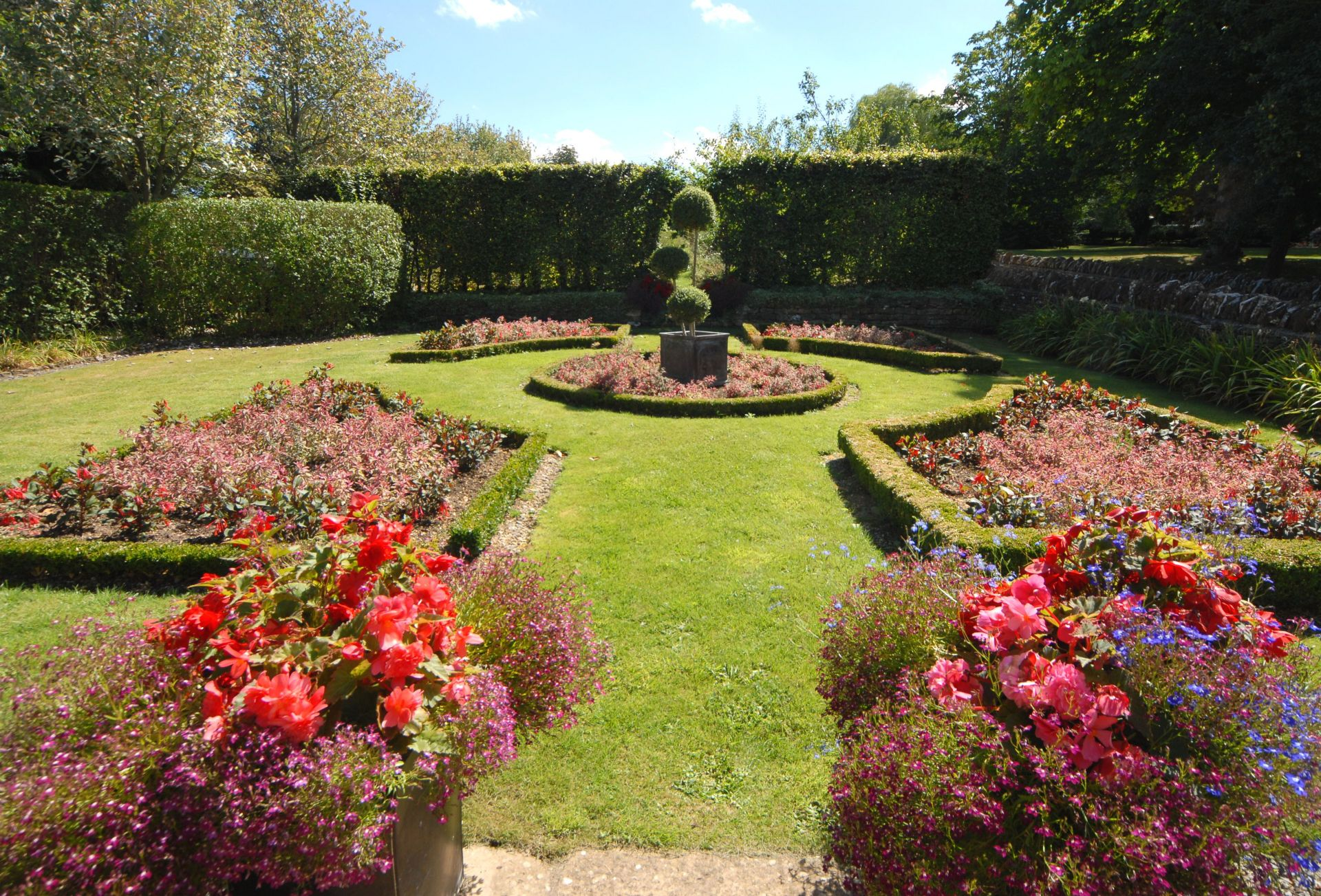 Another part of the attractive garden
