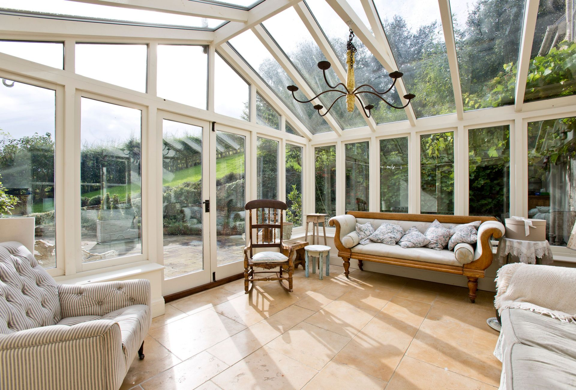 Ground floor: The conservatory