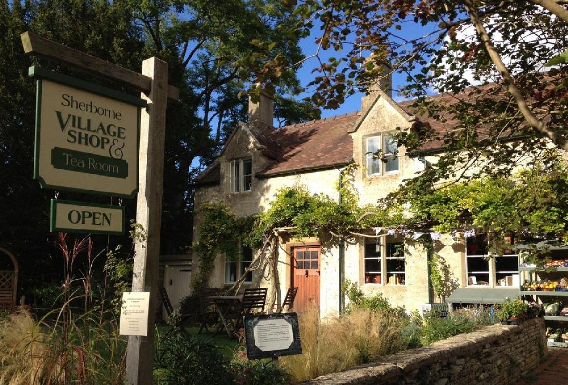 Sherborne village shop and tea room