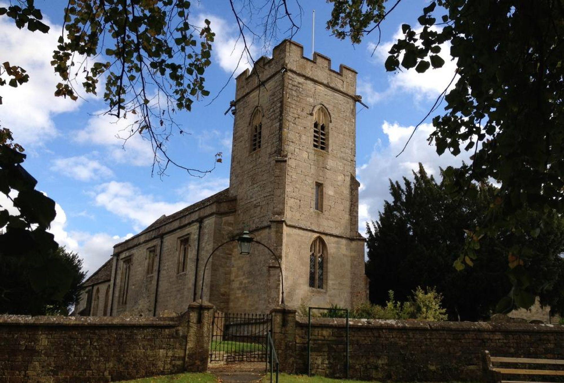 St Peters Church in Windrush