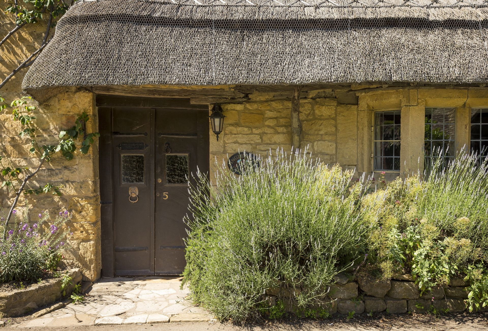 Entry to Inglenook Cottage