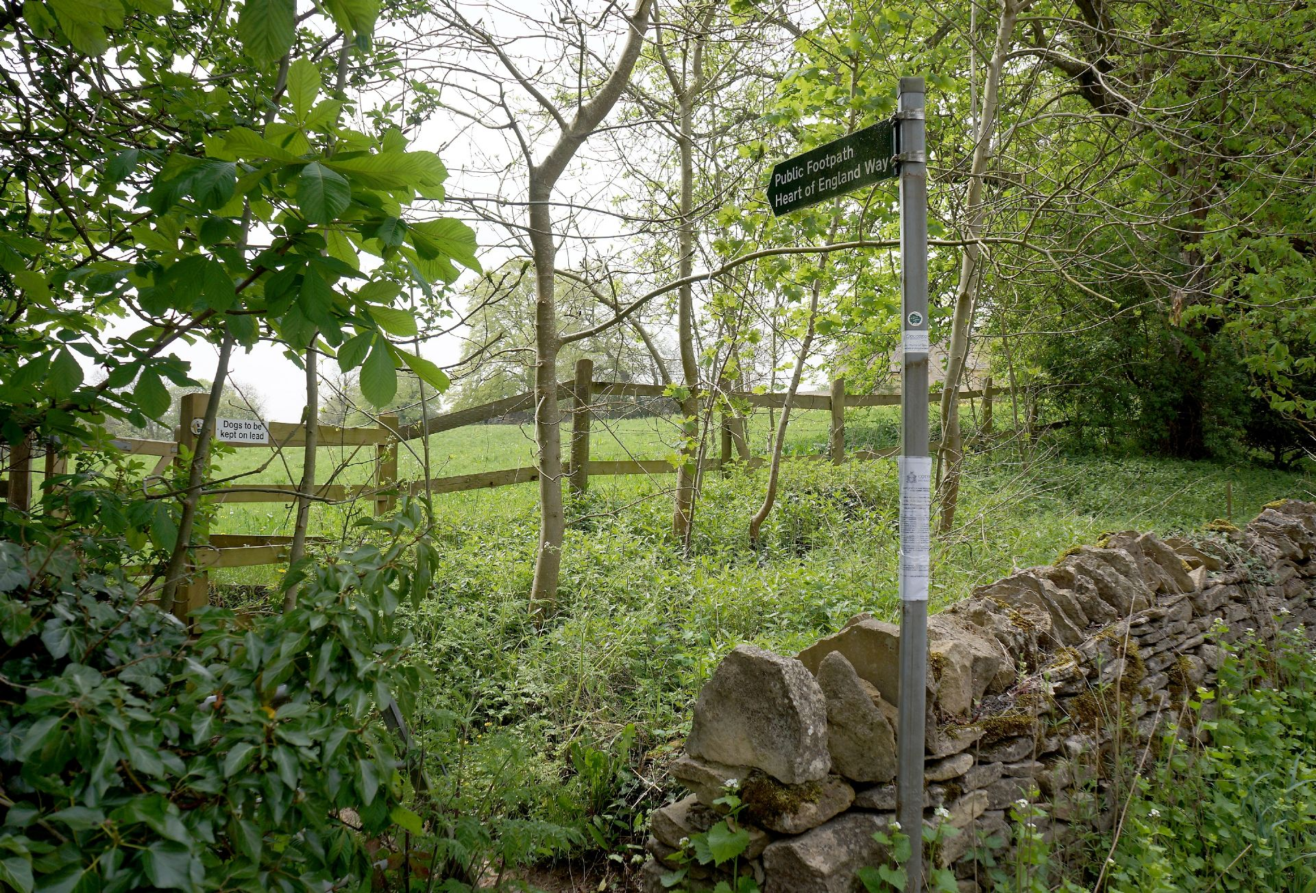 Explore the local footpaths from the village
