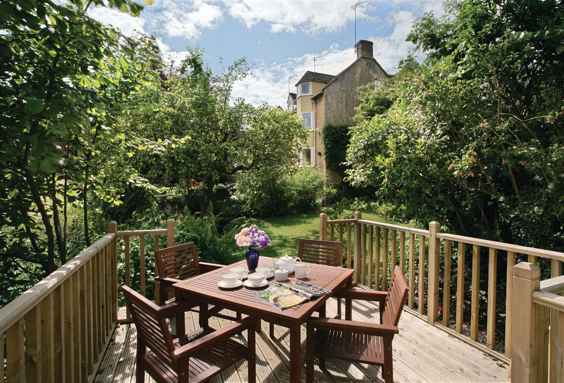 Beckwood is a converted 17th century silk mill providing holiday accommodation for four guests