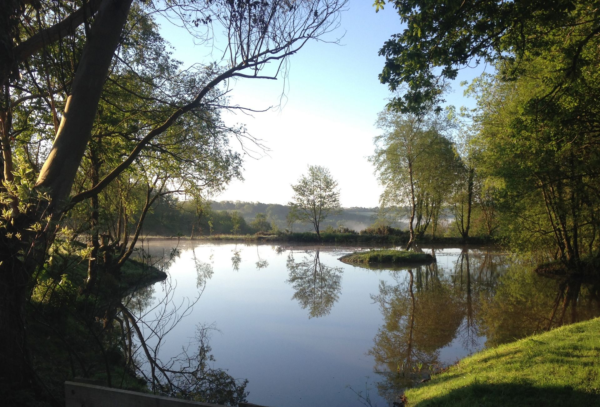 Set in 15 acres of grounds with a lake, stream and woodland
