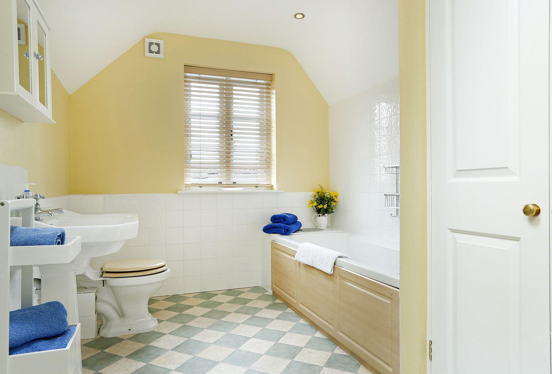 First floor:  Family bathroom