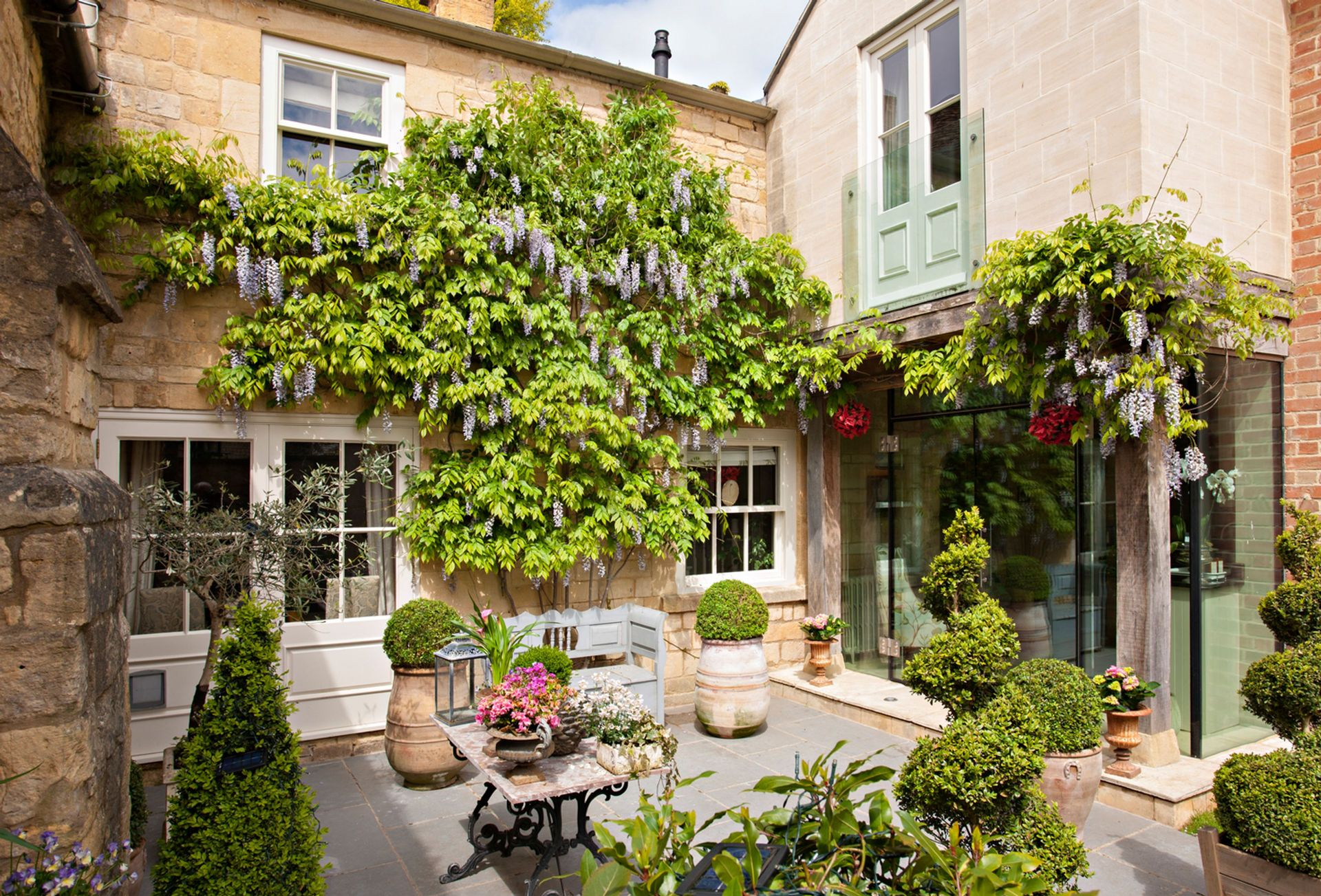 View of the Courtyard Garden