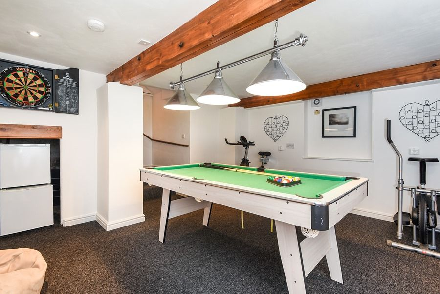 Holland House with Barn | Cellar - games room