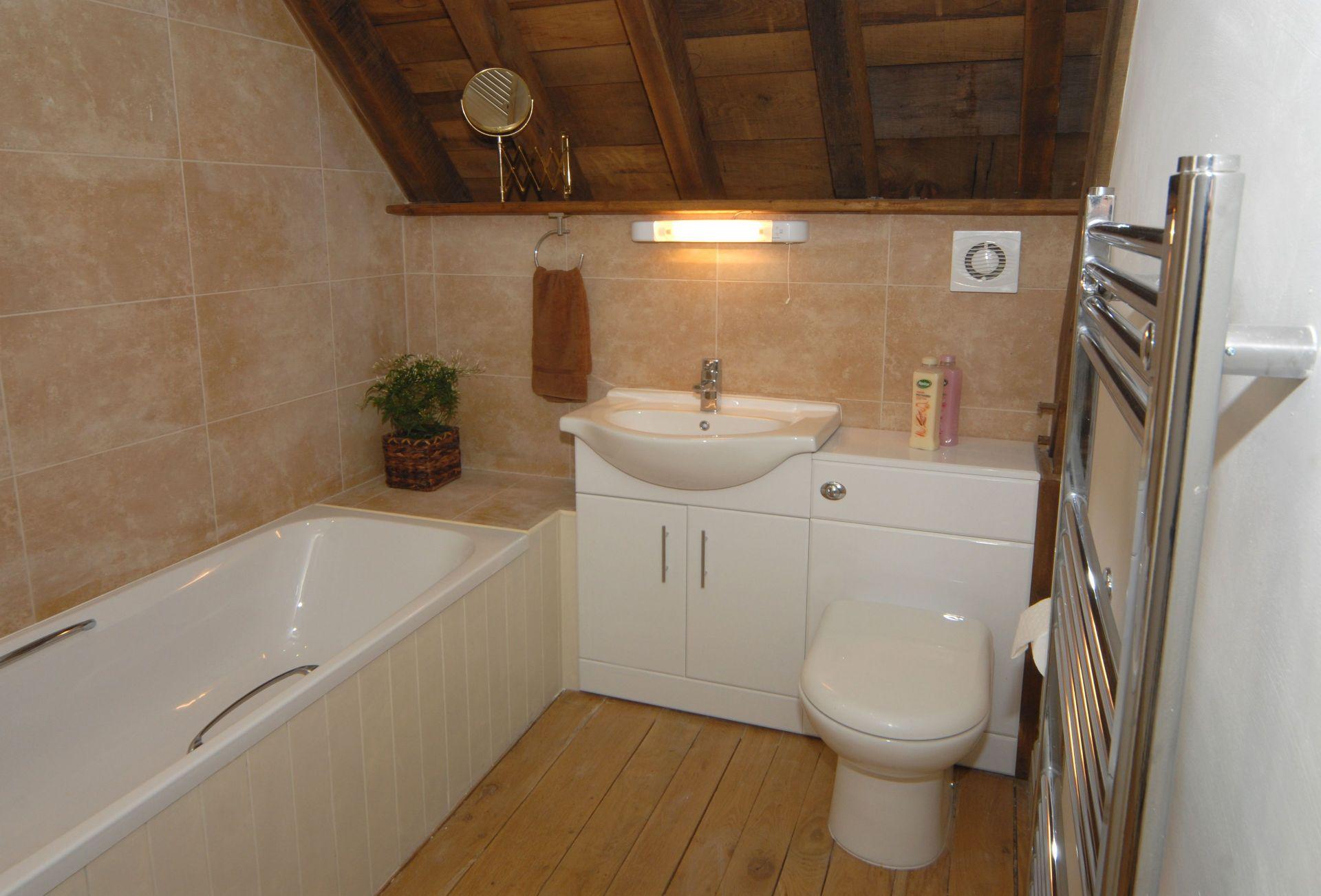 Watery Park Barn First floor:  En-suite bathroom