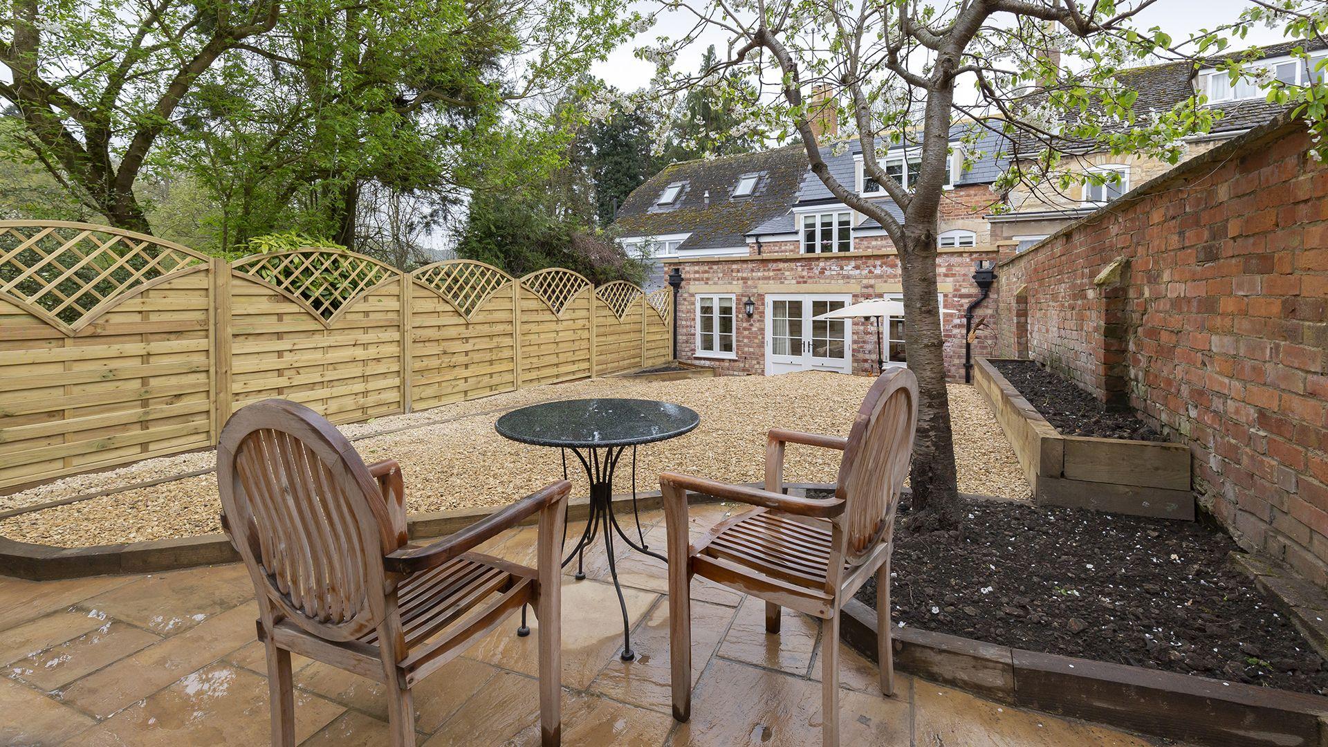 Garden area, 14 Vineyard Street, Bolthole Retreats