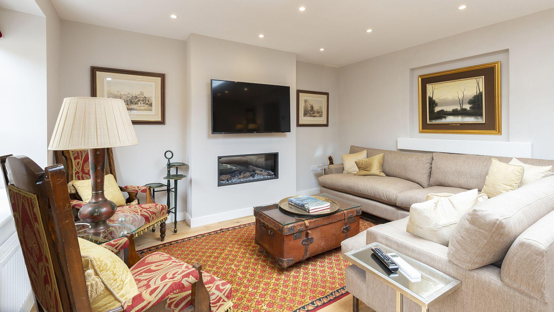 Living room, 14 Vineyard Street, Bolthole Retreats