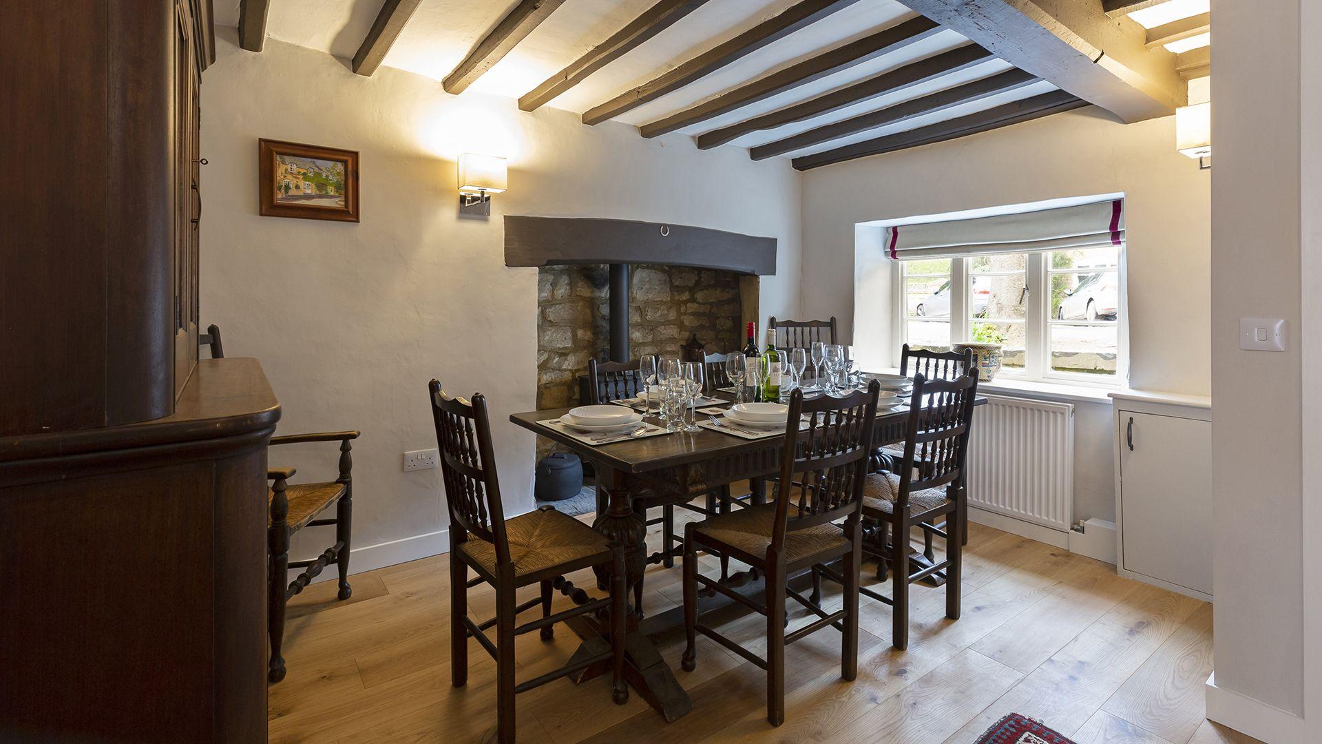Dining room, 14 Vineyard Street, Bolthole Retreats
