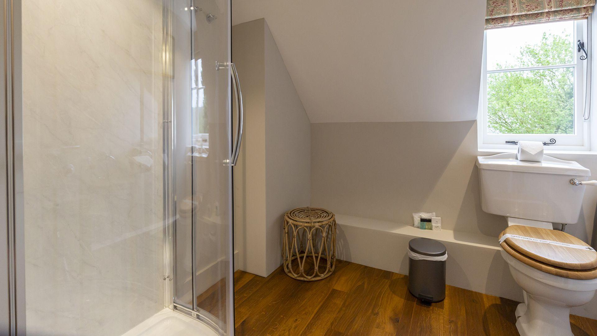 Shower room, 14 Vineyard Street, Bolthole Retreats