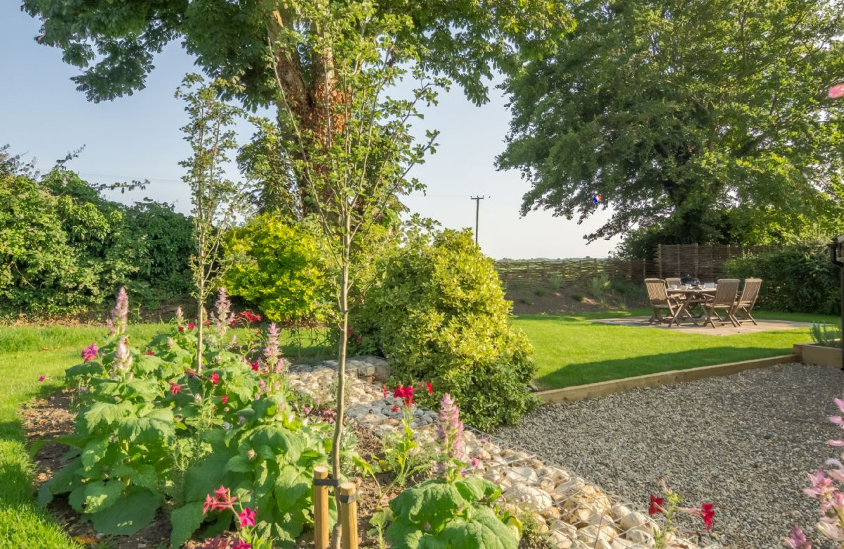 Enclosed and spacious landscaped gardens at My Dalling